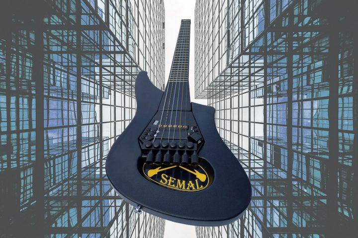 Семал-гитара в действии. Запись клипов.